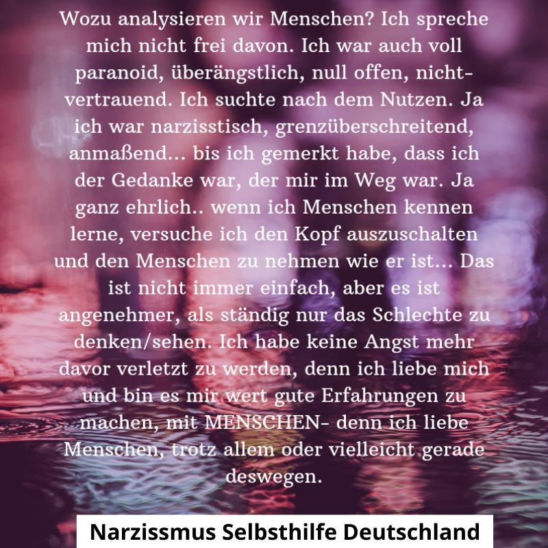 Sprüche narzissmus Narzisstischer Missbrauch: